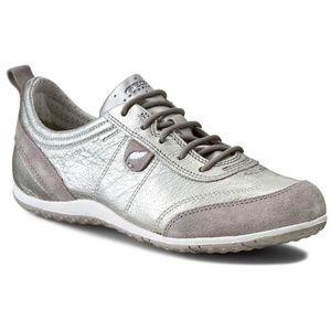 Geox Respira Vega Silver Sneakers